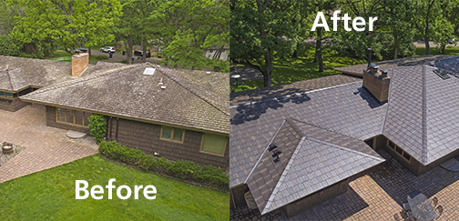 Metal Shingles Benefits Over Asphalt | Swita Metal Roofing