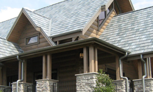 House Metal Roofing