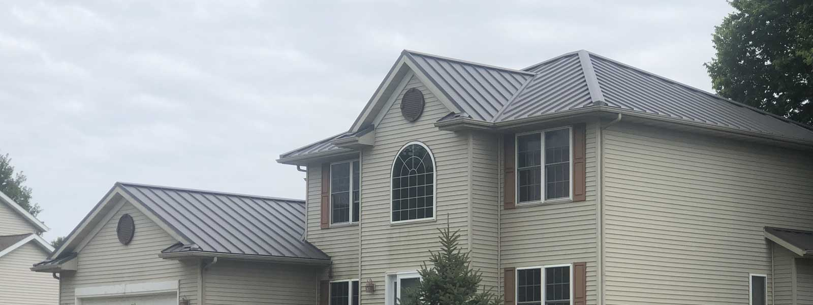 Metal Roofing Benefits. <br />Beauty, Durability and Energy Efficiency.